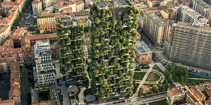 """The vertical forest – protecting """"urban biodiversity"""""""